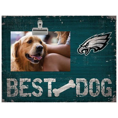 Philadelphia Eagles - Best Dog Clip Frame