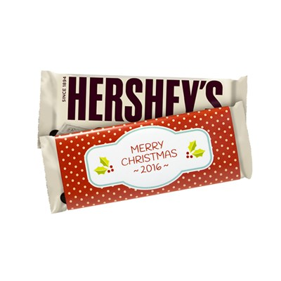 "Hershey's ""Merry Christmas"" Cookies 'n' Creme Bars - 6 Count"