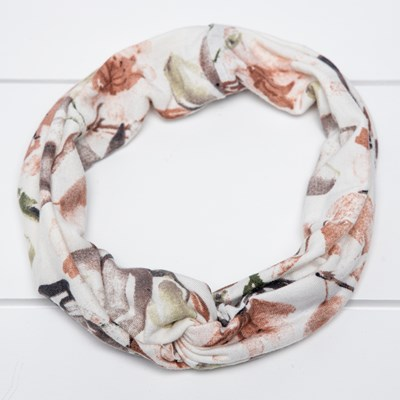 Women's Soft Floral Headband