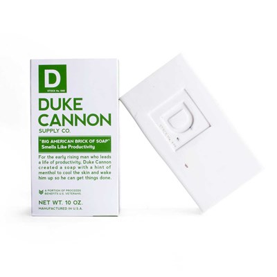 Duke Cannon Brick of Soap - Productivity