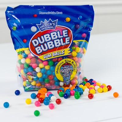 Dubble Bubble® Gumball Refill Bag