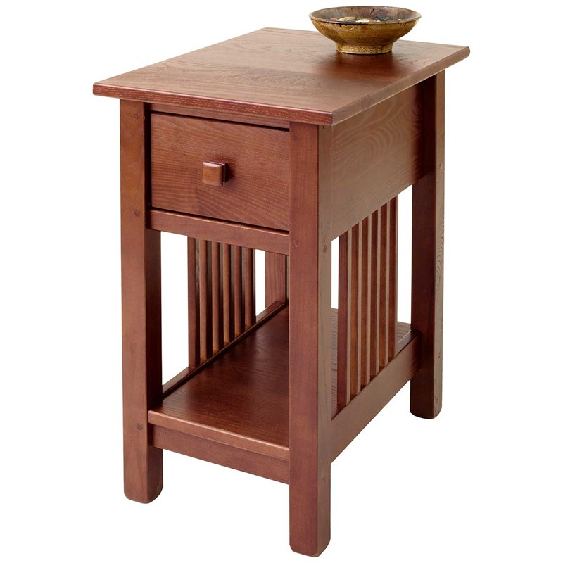 627233 Manchester Wood Reg Mission Style Side Table
