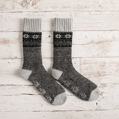 Nordic Twist Slipper Socks
