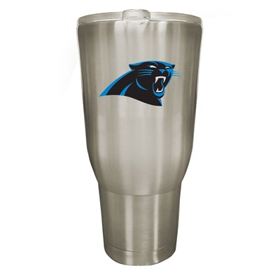 Carolina Panthers 32oz Stainless Steel Tumbler