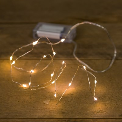 Micro LED String Lights - White