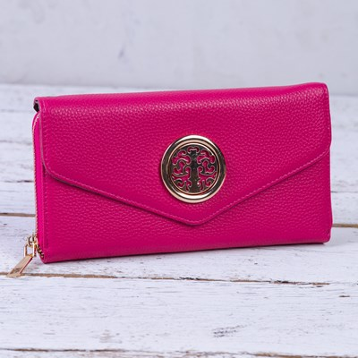 Berry Medallion Wallet