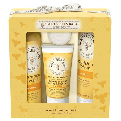 Burt's Bees Baby Keepsake Photo Box Sweet Memories Kit