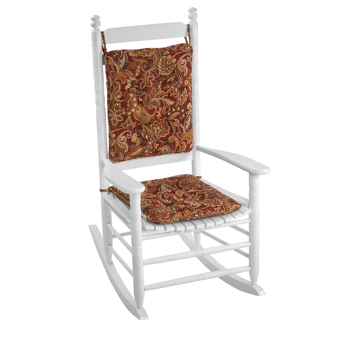 Garnet Floral Rocker Cushion Set  sc 1 st  Cracker Barrel & Indoor Furniture Rocker Seat Cushions - Cracker Barrel Old Country Store