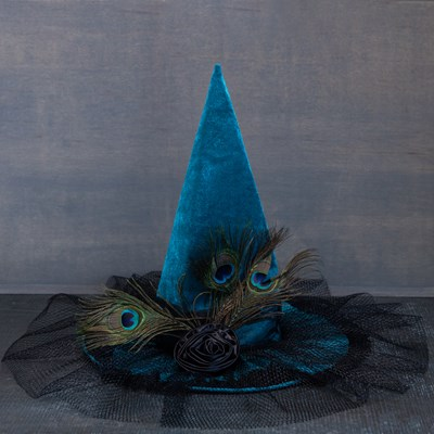 Peacock Witch Hat