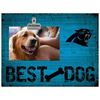 Carolina Panthers - Best Dog Clip Frame