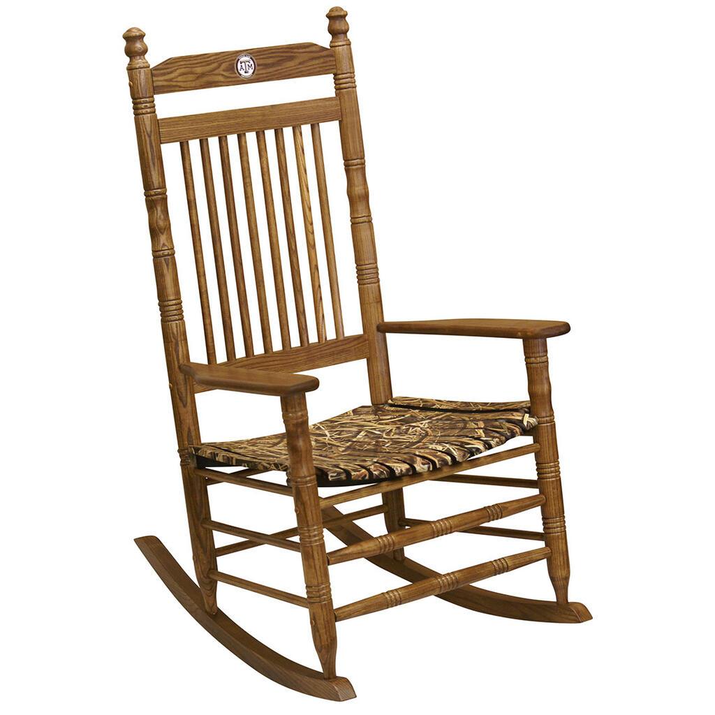 Camo Rocking Chair Texas A M