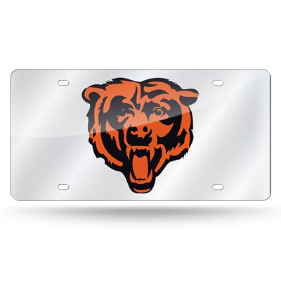 Chicago Bears Laser License Plate
