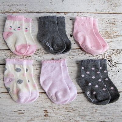 Infant 6-Pack Sock Set