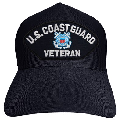 U.S. Coast Guard Veteran Hat