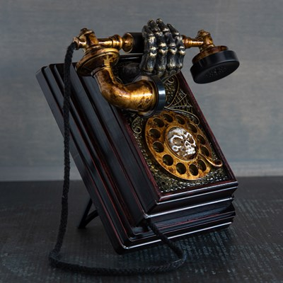 Animated Haunted Phone