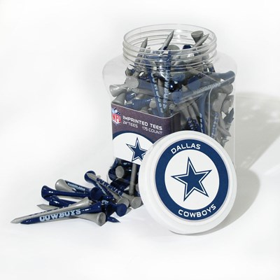 Jar of Golf Tees - Dallas Cowboys