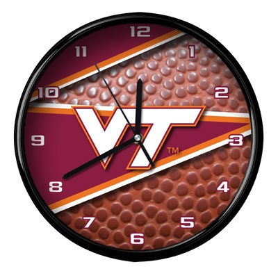 Virginia Tech - Football Clock
