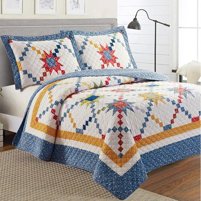 Star Patchwork Quilt - Queen