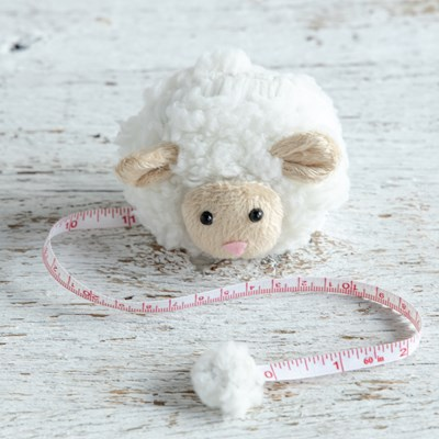Oh Gussie! Fluffy Sheep Tape Measure