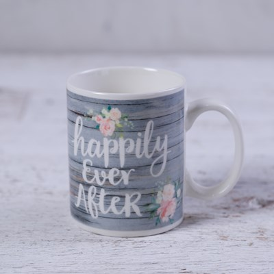 """Happily Ever After"" Mug"
