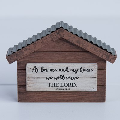 """Me and My House"" Tiny House Sign"