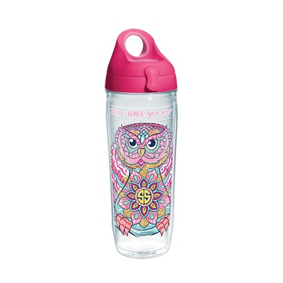 """Owl Whoo You Are"" 24 Oz. Water Bottle"