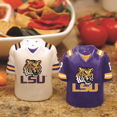 Jersey Salt & Pepper Shaker Set - LSU