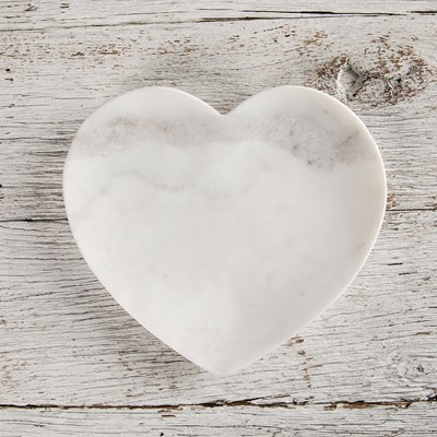 Marble Heart Plate