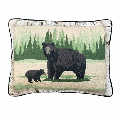 Birch Bear Standard Sham by Donna Sharp
