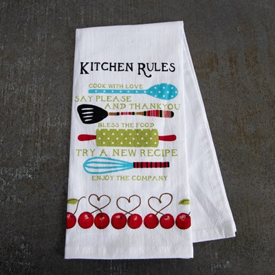 Kitchen Rules Kitchen Towel