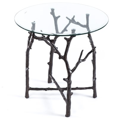 Aluminum Branch Side Table