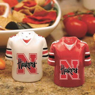 Jersey Salt & Pepper Shaker Set - Nebraska