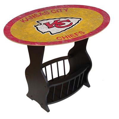 Kansas City Chiefs - Team Color End Table