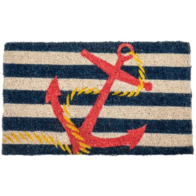 Anchor Handwoven Coir Doormat