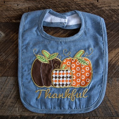 """Thankful"" Bib"