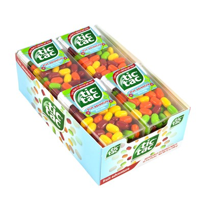Tic Tac Fruit Adventure Singles - 12 Count
