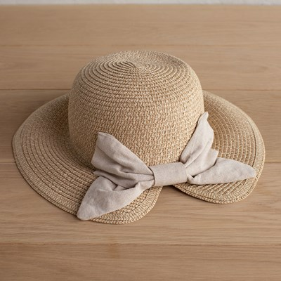 Natural Bow Hat