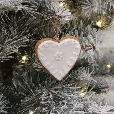 Clay Dough Heart Ornament