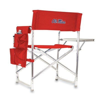 Portable Chair with Tray and Caddy - Ole Miss