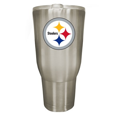 Pittsburgh Steelers 32oz Stainless Steel Tumbler
