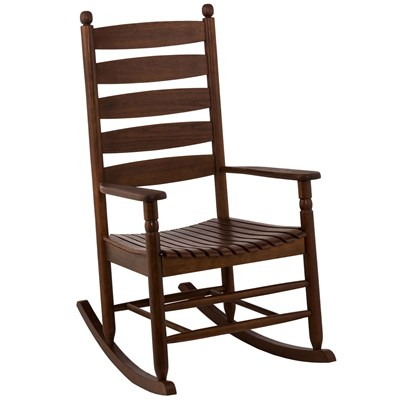 Ladderback Rocker - Walnut
