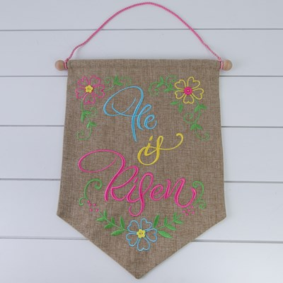 """He Is Risen"" Wall Hanger"