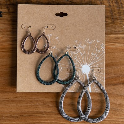 3-Piece Tri-Tone Ear Set