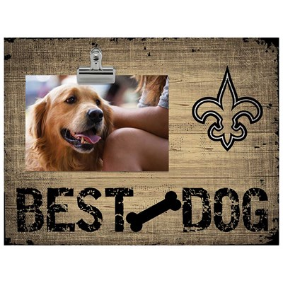 New Orleans Saints - Best Dog Clip Frame