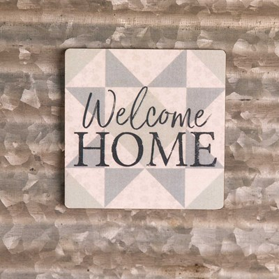 """Welcome Home"" Magnet"