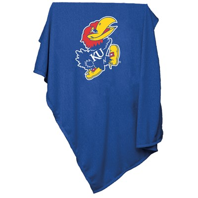 Sweatshirt Throw Blanket - Kansas