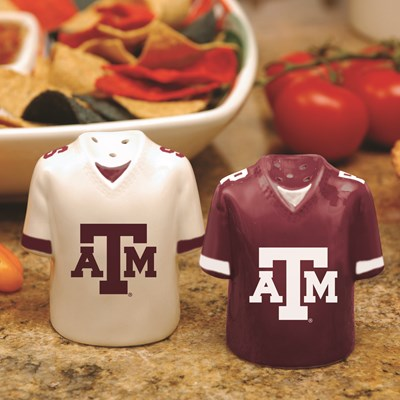 Jersey Salt & Pepper Shaker Set - Texas A&M