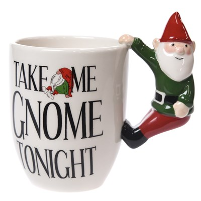 """Take Me Gnome Tonight"" Mug"
