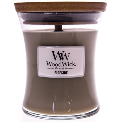 WoodWick ® Fireside Medium Candle