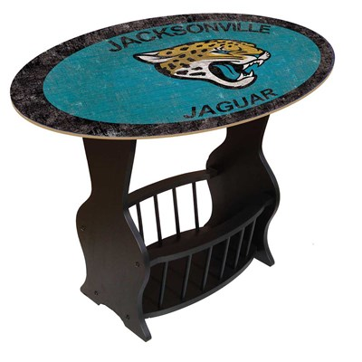 Jacksonville Jaguars - Team Color End Table